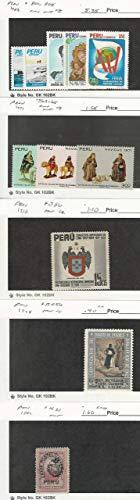 Peru, Postage Stamp, 801-5, 563-5, 386, RA56, N21 Mint NH & LH, JFZ