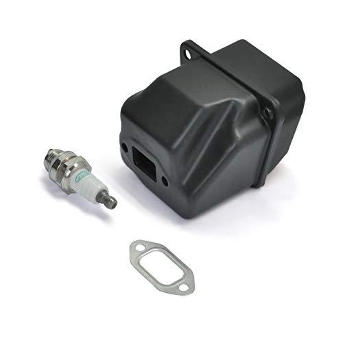 [해외]Stihl 024 026 MS240 MS260 전기톱 OEM #1121 140 0604 #1110 400 7005용 NEO-TEC 머플러 개스킷 스파크 플러그 키트 / NEO-TEC Muffler Gasket Spark Plug Kit for Stihl 024 026 MS240 MS260 Chainsaw OEM #1121 140 0604#1110 400 7005