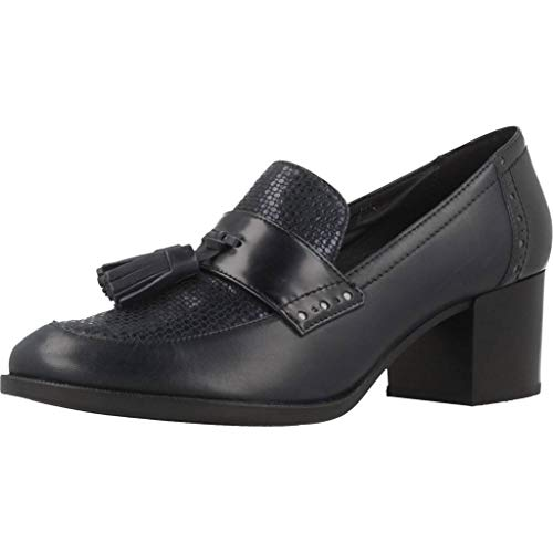 Heriete D Azul Azul Color Geox Modelo Para Zapatos c4002 Mujer Mujer Geox Mid Marca Uzwnvqp1