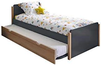 Feelharmonie - Juego de cama nido con somier y colchón Kaola ...
