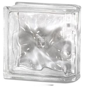 Quality Glass Block 8 x 8 x 4 Decora End Block Glass Block