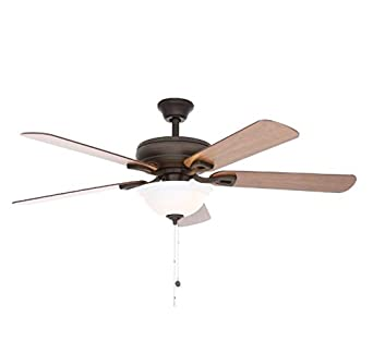Rothley 52 Inch Indoor Oil-Rubbed Bronze Ceiling Fan