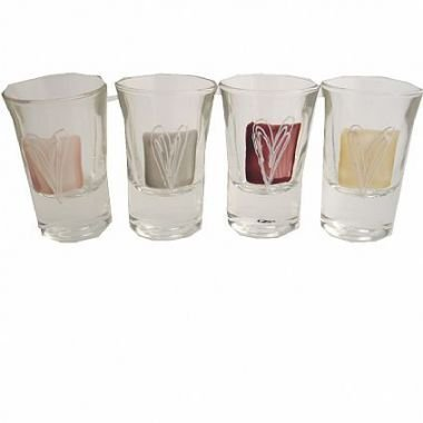 Dreamair Hearts Gift Shot Glasses (Set of 4)