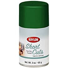 3 Oz Leaf Green Short Cuts® Spray Paint [Set of 6]