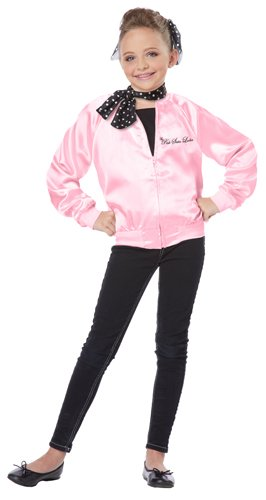 California Costumes The Pink Satin Ladies Child Costume, X-Small