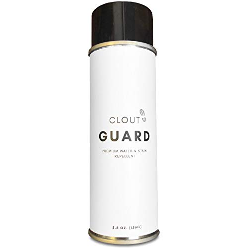 - Clout Guard - Premium Water and Stain Repellent - Waterproof and Protect Suede, Leather, Nubuck, Fabric, Nylon, Polyester and More - Sneakerhead Protector for All Sneakers, Shoes, Boots, Accessories