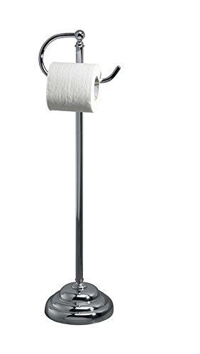 Superbe Valsan 53505NI   Essentials Polished Nickel Freestanding Toilet Paper Holder