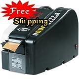 Marsh MARSHELEC TD2100 Electric Paper Gum Tape Dispenser, Black