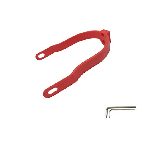 (AckfulRear Mudguard Bracket Support for Xiaomi M365/M365 Pro Scooter Accessory (Red))