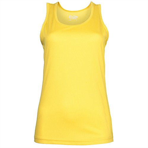 Just Cool Modelos Girlie Vest Sun Yellow