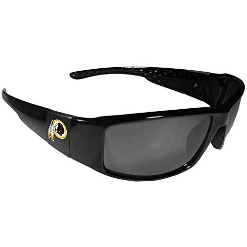 (Siskiyou NFL Washington Redskins Wrap Sunglasses, Black)