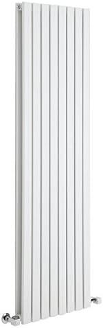 1600mm x 472mm x 53mm Hudson Reed Sloane Radiador de Dise/ño Vertical 1149 Vatios Blanco