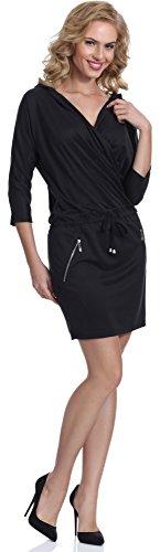 3686 H4D3 Bellivalini Noir Femme Robe pq1q7wZxv