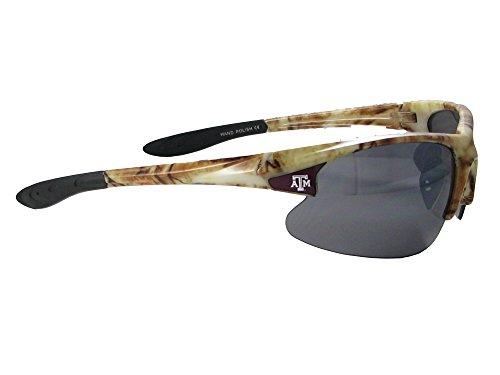 Texas A&M Aggies TAMU Camo Action Mens Sunglasses - Sunglasses Action