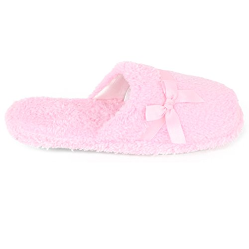 Pink Womens Benard Harve Harve Plush Slide Benard Light wBZRqcSU