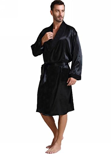 Mens-Silk-Satin-Bathrobe-Robe-NightgownBig-and-tall-S3XL-PlusGifts7-12days-to-USA