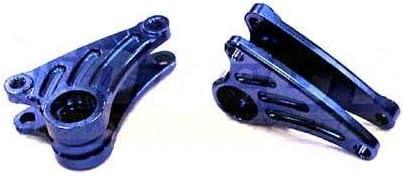 Slash Rally Integy RC Model Hop-ups T3435BLUE Billet Machined Front Rocker Arms for 1//16 Traxxas E-Revo