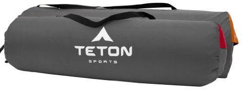 TETON Sports ComfortLite Regular Self Inflating Camp Pad; Sleeping Mat or Pad; Perfect for Camping with Rapid Inflation Valve