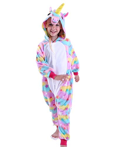 cosMonsters Kids Unicorn Onesie Pajamas Cosplay Halloween Costume