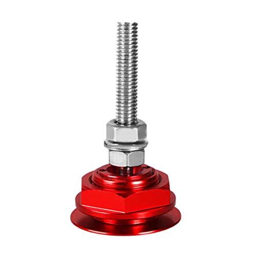 MqbY Aluminum Alloy Mini Engine Hood Cover Lock Universal Push Button Billet Hood Pins Lock Clip Car Quick Latch for Auto Car