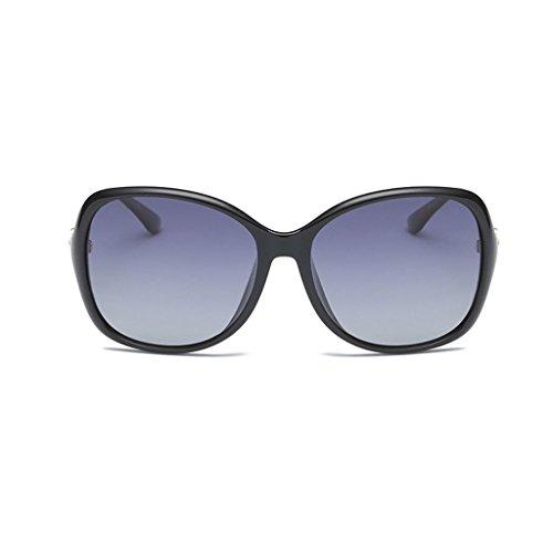 Light UV Libre Visor Tendencia Sol Anti Negro Decoración Gafas Driver Aire Polarized Personalidad al de Fashion Espejo Sun qacc4tW