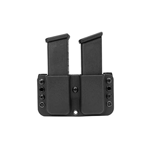 Blade-Tech Total Eclipse Double Mag Pouch for Glock 17, 19, 22, 23, H&K USP Compact 9/40 and More