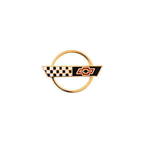(Eckler's Premier Quality Products 25-331005 Corvette - C4 Gold Emblem Lapel Pin)