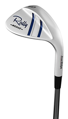Tour Edge Women's Rally Wedge Graphite (Ladies, Right Hand, Graphite, Ladies, Lrh Bazooka Rally Wedge 60 Deg Recoil Graph L) (