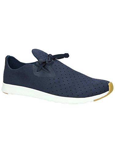 Sneaker Di Moda Apollo Moc Unisex Nativo. Regata Blu / Shell Bianco / Gomma Naturale 2
