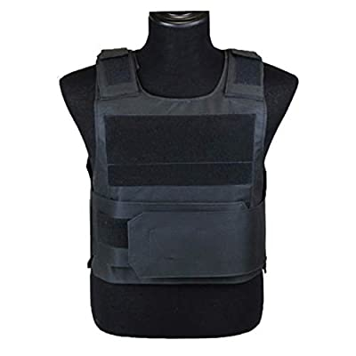 WOLFBUSH Tactical Vest, Training Protective Vest Military Training Protective Equipmemt for Outdoor Activity