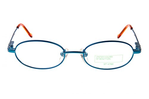 Benetton Kinder Brillengestell 457 LQ1, Farbe:Blau
