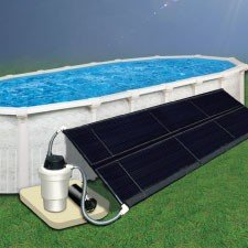 Doheny's Above Ground Pool Solar Heating System 5' x 20' (Two 2.5 x 20) with Hardware