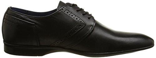 Pierre Cardin Gery - Zapatos Hombre Negro - Noir (Crust Black)