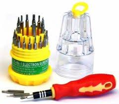 Mini Jackly Monus 31 in 1 Multifunction Universal Magnetic Screwdriver Tool Kit for Professional Household Repair