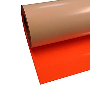 "Siser Easyweed Red 15/"" x 5/' Iron on Heat Transfer Vinyl Roll"