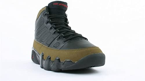 promo code e30f5 76912 AIR JORDAN 9 RETRO 'OLIVE' - 302370-031: Amazon.com