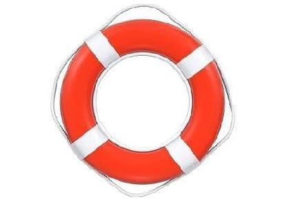 774f7b455ac0 Amazon.com   Lifeguard Master RING BUOY - 24 INCH - ORANGE   Mooring ...