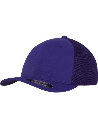 Flexfit hombre Tactel para Mesh de Purple Mütze Gorra ciclismo pUp4rwFxq