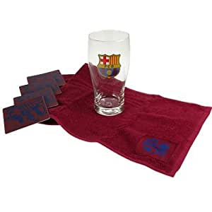 Fc barcelona mini bar set sports outdoors for Kitchen gadgets barcelona