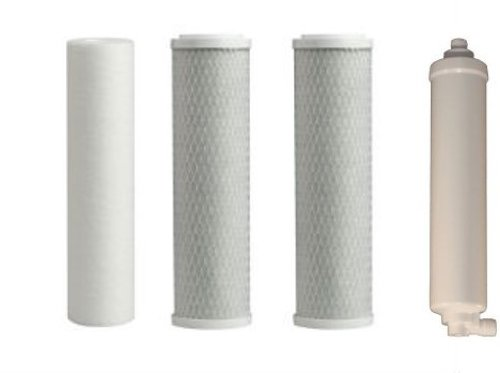 (Paragon Water Systems TLR04RC-4PK Twist Lock Replacement Filter Pack for 4-Stage Reverse Osmosis )