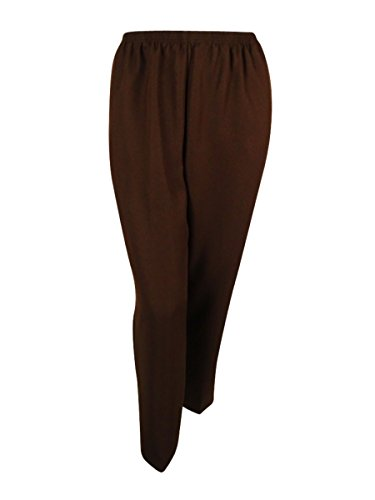 Alfred Dunner Plus Size Polyester Pants