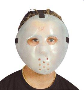 Dark Hockey Mask (Forum Novelties Ukps Glow in the Dark Plastic Jason Hockey Mask)
