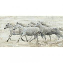 Yosemite Home Decor Horses in the Wind Original Hand Painted Wall Art