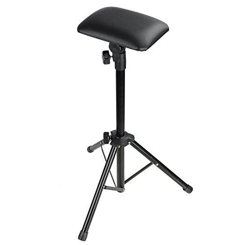 GC Global Direct Adjustable Tattoo Armrest Tripod Chair