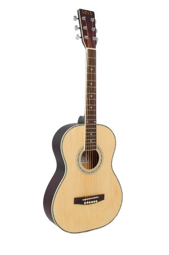 Lyul 3/4 Size Acoustic Premium Guitar Package (Maple) by LyuL