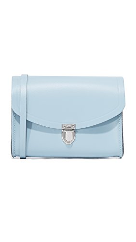 Cambridge Satchel Women's Push Lock Bag Periwinkle Blue One Size Plkmd1152bnh10101