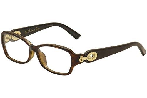 Christian Dior CD 3274/F Havana Brown Black Eyeglass Frames