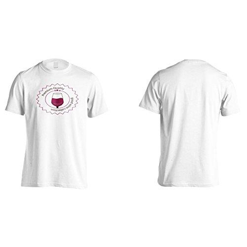 Neue Weinprämienqualität Herren T-Shirt l581m