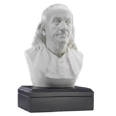 Sale - Fathers DAY Gift - Ben Franklin Bust - Founding Father (Best Father's Day Sales)