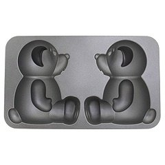 Nordic Ware Cast Aluminum Build-A-Bear Cake Pan
